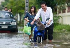 сезон Таиланд муссона стоковая фотография