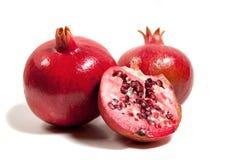сезон pomegranates Стоковое Изображение