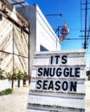 Сезон Snuggle стоковое изображение