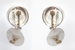 Сейф ключа дома Inox Стоковые Изображения