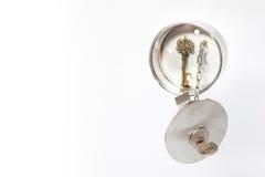 Сейф ключа дома Inox Стоковая Фотография