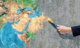 Сейф наша планета Стоковая Фотография
