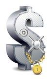 сейф доллара Стоковые Изображения RF