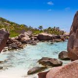 Сейшельские островы, остров Digue Ла Стоковая Фотография
