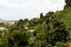 Сейшельские островы прописное Виктория, Mahe Стоковая Фотография