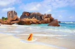 Сейшельские островы, digue La Стоковые Изображения RF