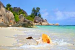 Сейшельские островы, digue La Стоковое фото RF