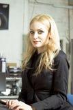 секретарша офиса стоковые фотографии rf