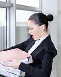 секретарша офиса Стоковое Изображение