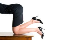 секретарша сексуальная стоковые изображения