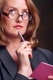 секретарша Стоковые Изображения