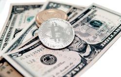 Секретная валюта на заднем плане долларов Стоковые Фото