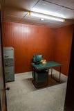 Секретная военная комната в бункере стоковые фото