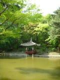 Секретный сад дворца Changdeok Стоковые Фото