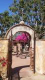 Секретный сад в San Juan Capistrano стоковые фото