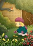 Секретный сад Стоковая Фотография RF