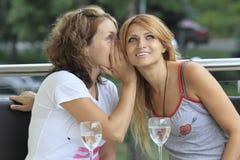 Секреты женщин Стоковые Фотографии RF