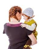 Секреты матери и дочери Стоковая Фотография RF