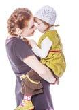Секреты матери и дочери Стоковая Фотография