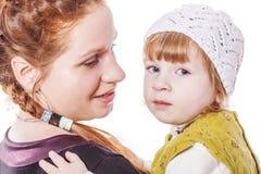 Секреты матери и дочери Стоковое фото RF