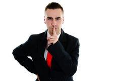 секрет бизнесмена s Стоковые Фото