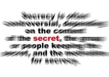 секрет влияния Стоковые Изображения