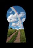 секрет двери Стоковое Изображение RF
