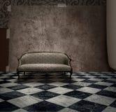 секрет комнаты тайны grunge Стоковые Фото