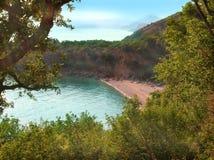 секрет пляжа Стоковые Изображения RF