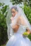 секрет портрета s кануна невесты Стоковое Фото