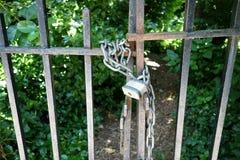 секрет путя сада дверей английский стоковые фотографии rf