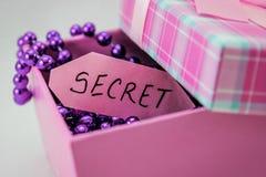 секрет стоковая фотография