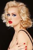Сексуальная блондинка стоковая фотография