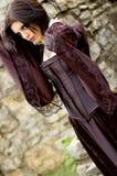 сексуальная женщина вампира Стоковые Фотографии RF