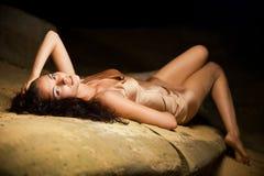 сексуальная женщина Стоковые Изображения