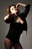 Сексуальная красивейшая женщина Стоковое Изображение RF