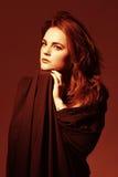 Сексуальная красивейшая женщина Стоковая Фотография RF