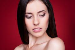 Сексуальная красивейшая женщина Стоковые Изображения