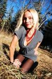 Сексуальная молодая женщина Стоковое фото RF
