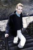 сексуальная помадка усмешки Стоковая Фотография RF