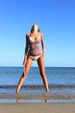 сексуальное бикини модельное Стоковые Фотографии RF