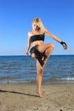 сексуальное бикини модельное Стоковое фото RF