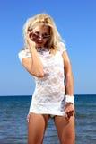 сексуальное бикини модельное Стоковые Изображения RF