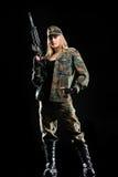 сексуальное девушки воинское Стоковое фото RF