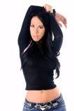 сексуальное очарования модельное Стоковая Фотография RF