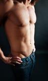 сексуальное человека тела славное стоковое изображение