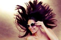 сексуальные солнечные очки Стоковые Фото
