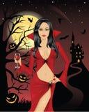 сексуальный вампир иллюстрация штока