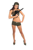 сексуальный воин стоковое изображение rf