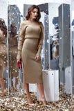 Сексуальный милый Д-р носки женщины волос брюнет фотомодели бежевый длинный Стоковые Изображения